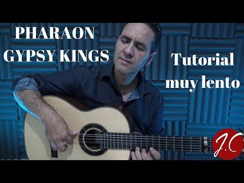 PHARAON GYPSY KINGS tutorial muy lento. Jerónimo de Carmen-Guitarra Flamenca
