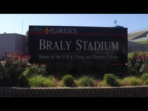 University of North Alabama  Braly Stadium Parking 2016