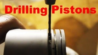 Drilling oil drain holes in piston, Oil consumption & burning issues
