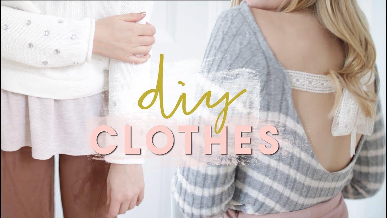 DIY Winter Clothes ☃️ Upcycled Fashion DIYs and Hacks ...