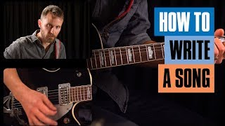 How to Write a Song On Guitar for Beginners | Guitar Tricks