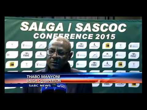 SALGA and SASCOC signed a memorandum of understanding