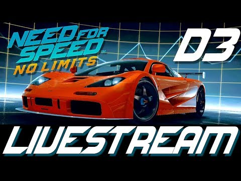 Need For Speed No Limits - Live Stream - Day 3 McLaren F1 LM