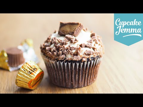 Generate How to make Peanut Butter Cup Cakes | Cupcake Jemma Pics