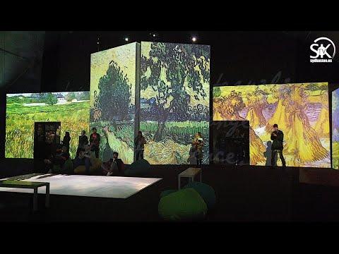 """Van Gogh Alive"" i Málaga"