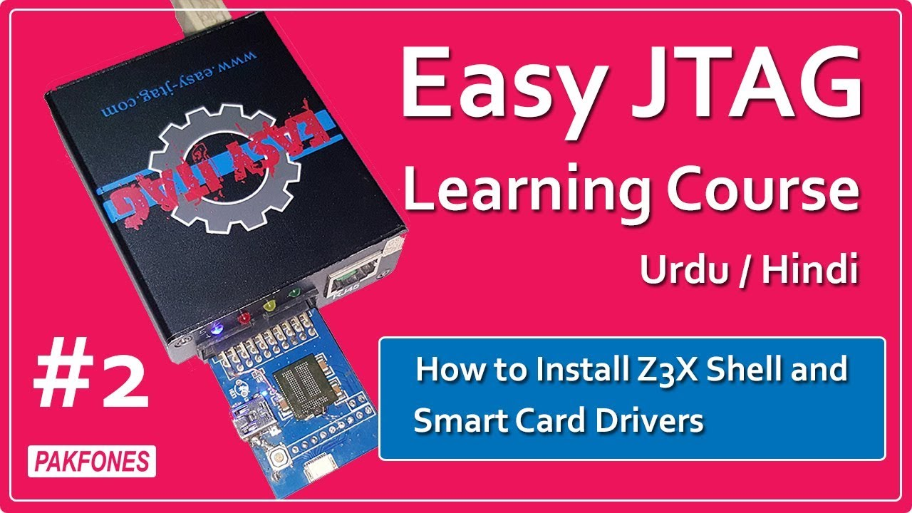 How to Install Z3X Shell and Smart Card Drivers   Easy JTAG Learning Course  #2