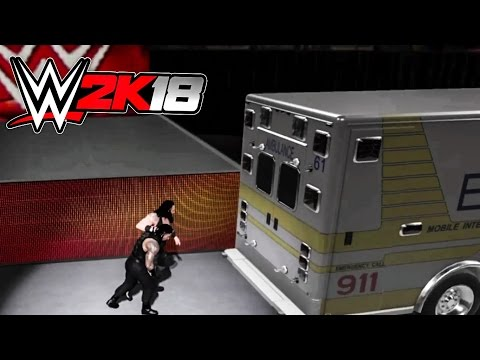 WWE 2K18 Ambulance Match NEW Feature! (Concept Gameplay) thumbnail