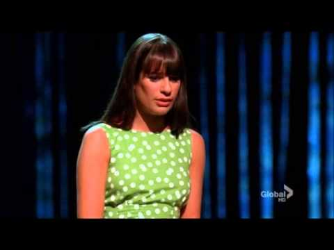 "Glee - Full Performance ""Big Girls Don't Cry"""