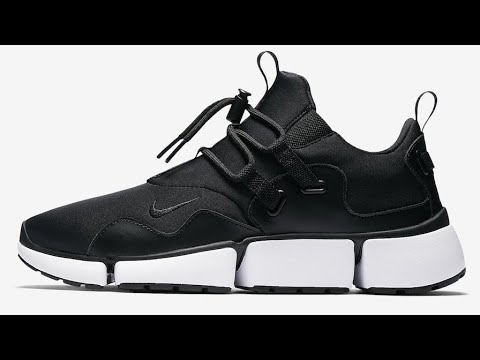4d3fa93a2766 NIKE POCKET KNIFE DM BLACK WHITE UNBOXING UN-CUT AND UP CLOSE DANGER RUSS  GONZO STYLE