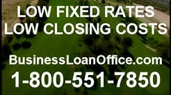 Low Interest Rate Commercial Property Loans