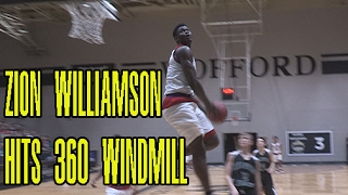 Zion Williamson PUNCHES 360 Windmill In Game! Chandler Lindsey Puts On Dunk Show In Playoff Matchup!