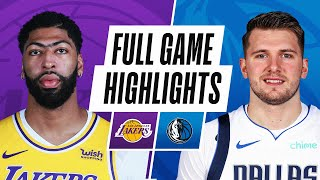 Game Recap: Mavericks 108, Lakers 93