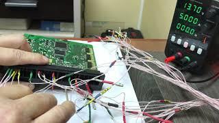 Mitsubishi Montero как проверить ЭБУ на столе. Имитатор сигналов датчиков.