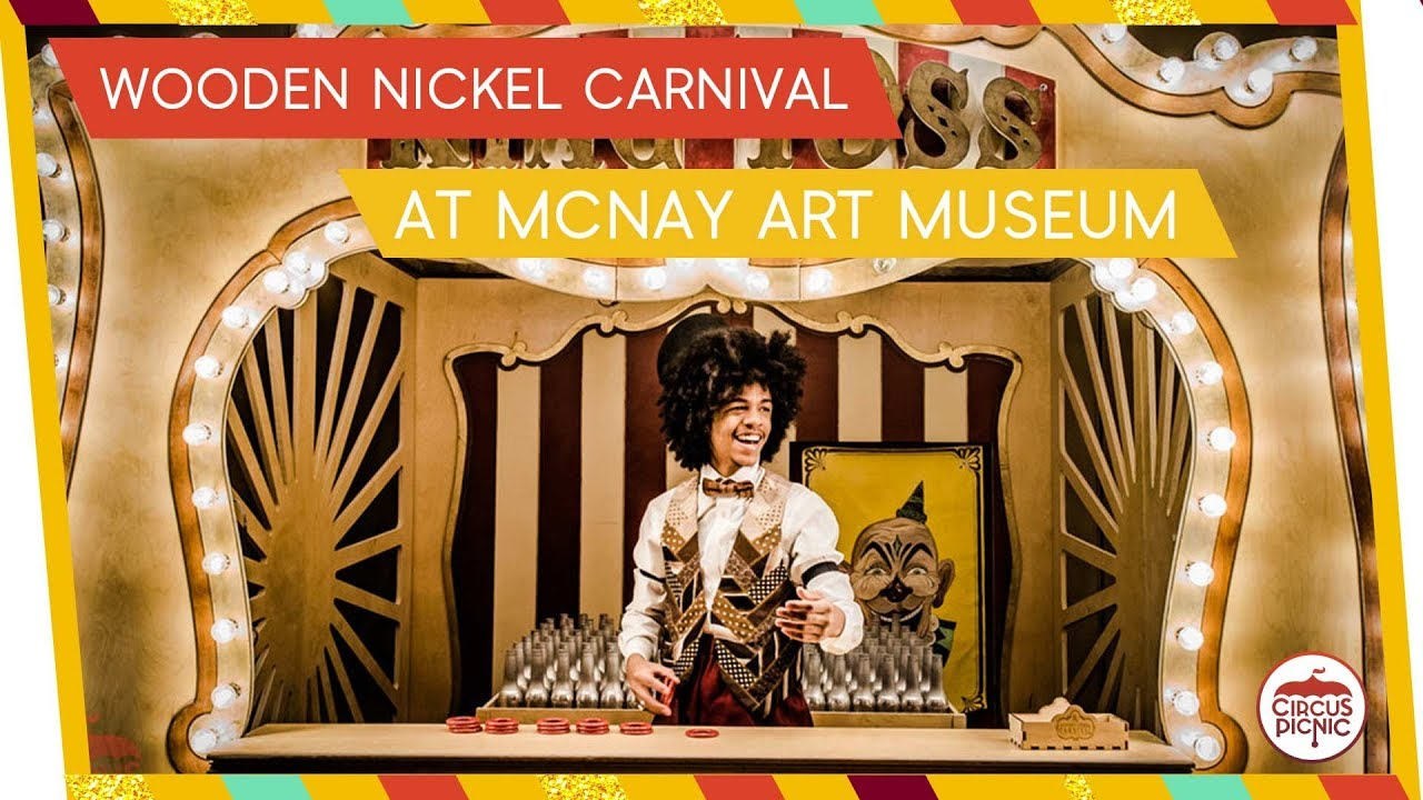 Wooden Nickel Carnival | Coney Island Themed Event at McNay Art Museum