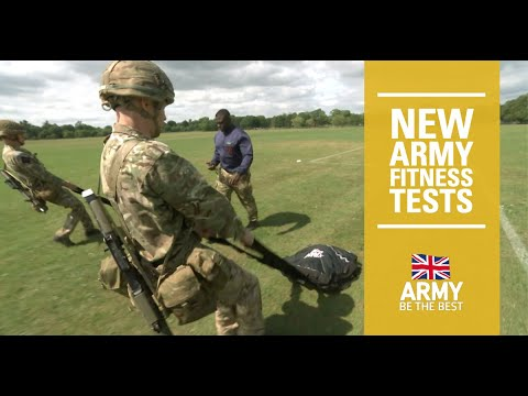 New Army Fitness Standards | British Army
