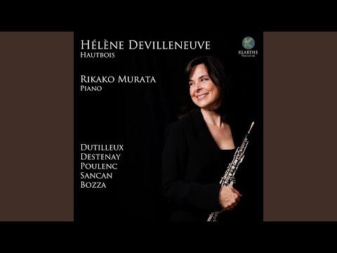 Sonate pour hautbois et piano: II. Scherzo. Vif