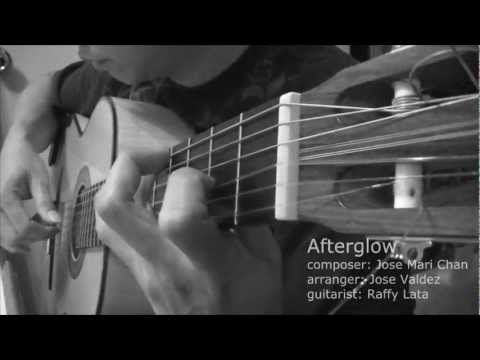 Afterglow  JM Chan arr Jose Valdez Solo Classical Guitar