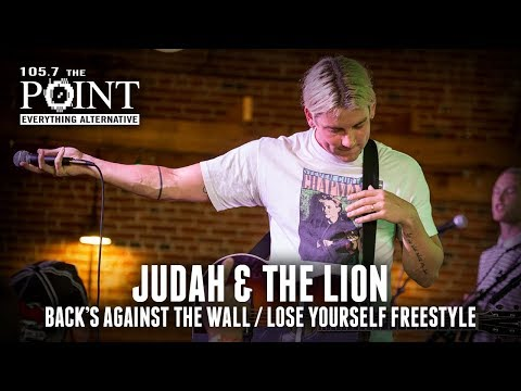 Judah & the Lion - Back's Against The Wall / Lose Yourself freestyle in St. Louis