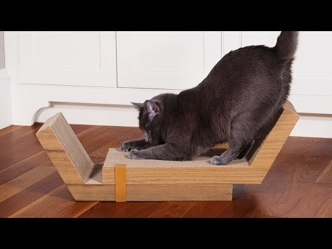 Finally, a cat scratcher that's beautiful.