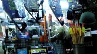 バンコク クロントム市場(泥棒市場)のミリタリーショップ