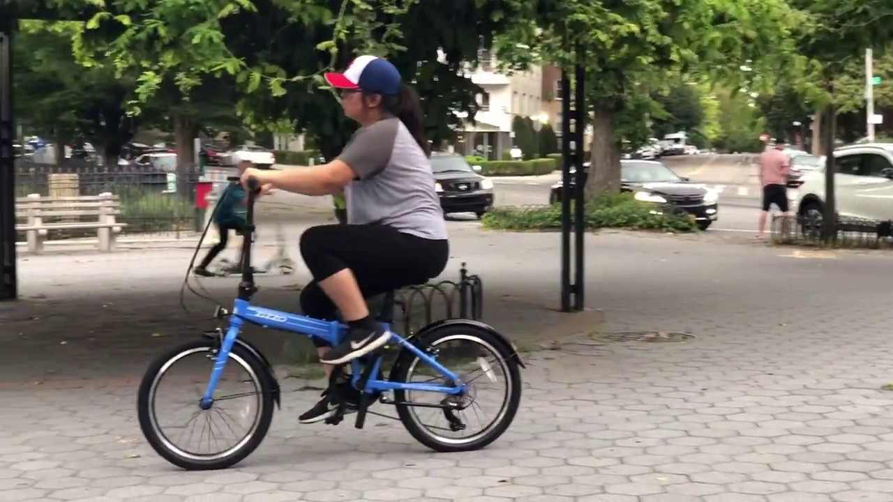Euro Mini Foldable Bike Zizzo Via Youtube