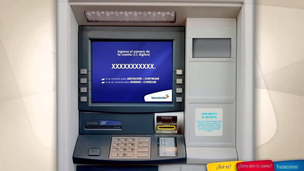 C mo retirar dinero con ahorro a la mano desde tu celular for Como cobrar en un cajero automatico