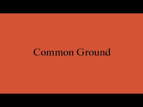 New Architects 4: Common Ground Architecture