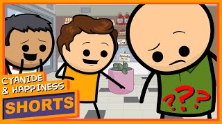Jimmy Three Balls - Cyanide & Happiness Shorts