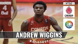 Andrew Wiggins Highlights Mix 2015 FIBA