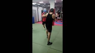 Легкая тренировка (бокс)
