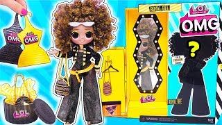 Новая ОГРОМНАЯ Сестра Куклы ЛОЛ Сюрприз Queen Bee - OMG Серия! Мультик LOL Families Surprise Dolls