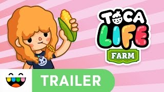 Work & Play the Farmer's Way | Toca Life: Farm | Gameplay Trailer | @TocaBoca