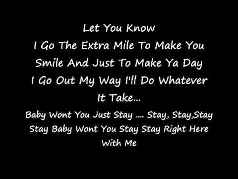 Tyrese Stay (LYRICS)