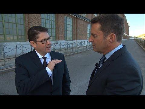 Entrevue avec le PDG d'Hydro-Québec, Éric Martel