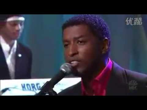 Babyface - Sorry for the stupid things (Live @ Jay Leno)
