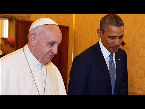 Obama and Pope Francis Meet for the First Time