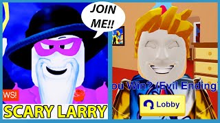 WE JOINED SCARY LARRY'S TEAM!! - Roblox Break In