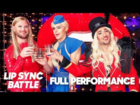 "Queer Eye Perform Britney Spears' ""Work Bitch"" & Lady Gaga & Beyoncé's ""Telephone"" 