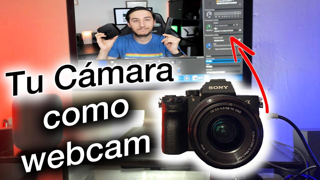Convierte tu cámara en una webcam 📸🖥
