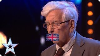 SHUT UP! 82-year-old man like Barry takes on STORMZY! | Auditions | BGT 2018