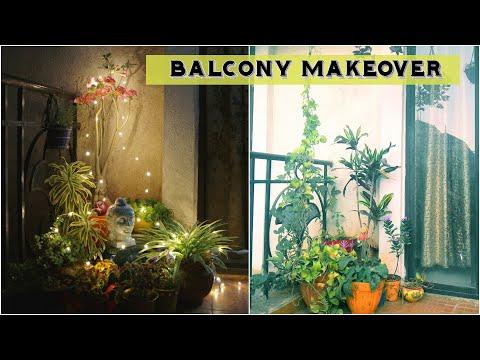 Balcony Makeover | Indian Balcony Decor