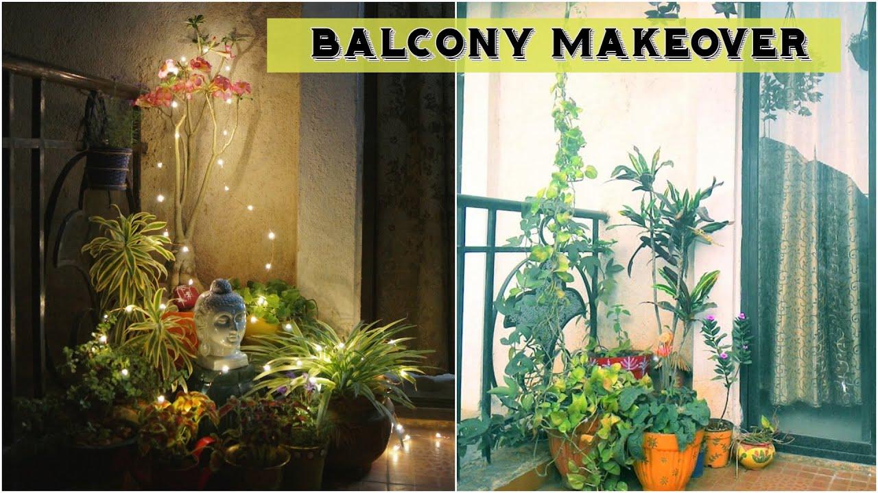 Balcony Makeover  Indian Balcony Decor