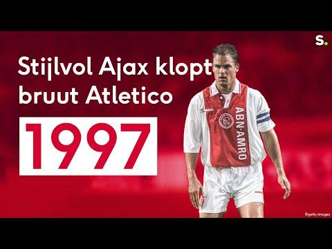 """Sporza Retro: """"Atletico-Ajax in 1997, de beste match die ik ooit zag"""""""