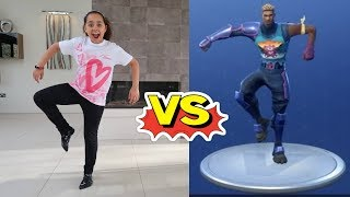 FORTNITE DANCE CHALLENGE!! In Real Life