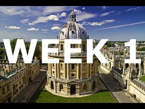 Quidditch, the Bodleian, and snow - HT2013 Week 1