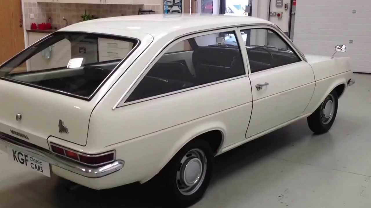 An Incredible HC Vauxhall Viva De Luxe Estate with Just One Owner ...