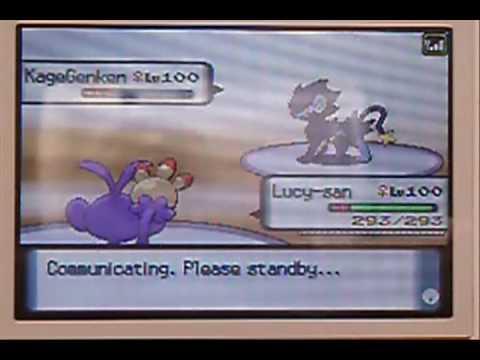 Pokemon D/P Wifi Battle (#01) SK V Jimtaro