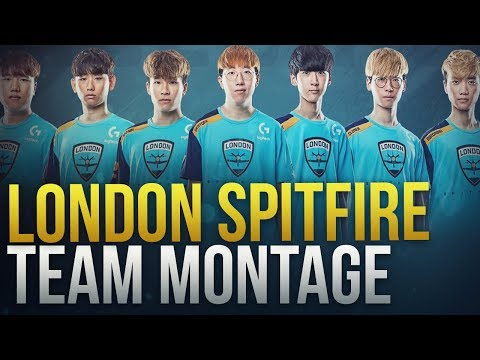 London Spitfire Team Montage [ Overwatch League Season 1 Champions ] - Overwatch Montage thumbnail