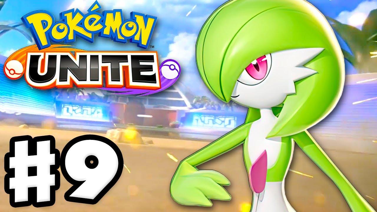 Gardevoir Is the First New Pokemon! - Pokemon Unite - Gameplay Walkthrough Part 9 (Nintendo Switch)