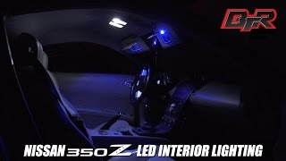 Install Nissan 350z LED Interior Dome and Trunk Lights | Black Top Racing